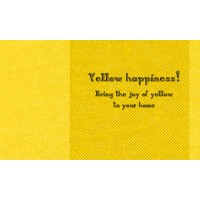 Yellow Happiness!